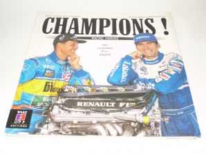 CHAMPIONS : RACING HEROS LE COULISSES D'UN EXPLOIT. (La Chapelle 1995)